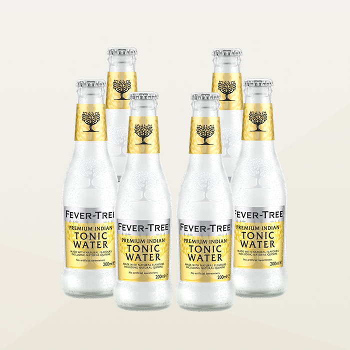Fever-Tree Indian Tonic Water 200ml Case of 6