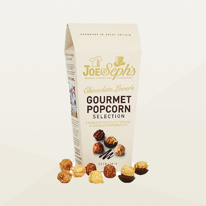 Joe & Seph's Chocolate Lover's Gourmet Popcorn Selection