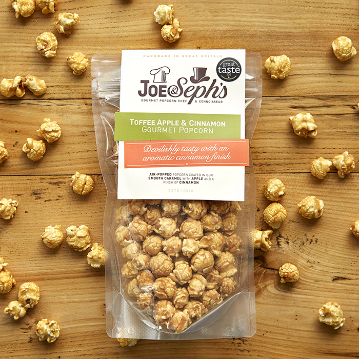 Joe & Seph's Toffee Apple & Cinnamon Popcorn
