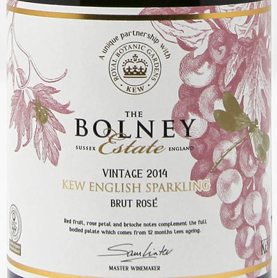 Kew English Sparkling Rosé NV