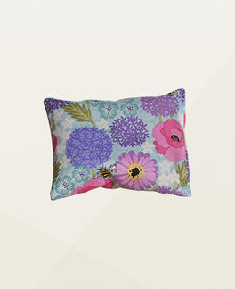 Bee & Flowers Lavender Pouch