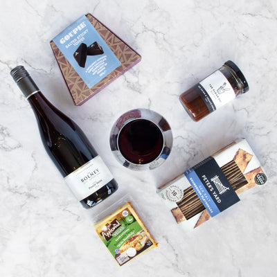Vegan Wine and Treat Box