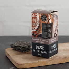 Peter's Yard Charcoal & Rye Sourdough Crispbread