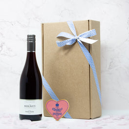 Valentine's Luxury Wine And Chocolate Gift Box