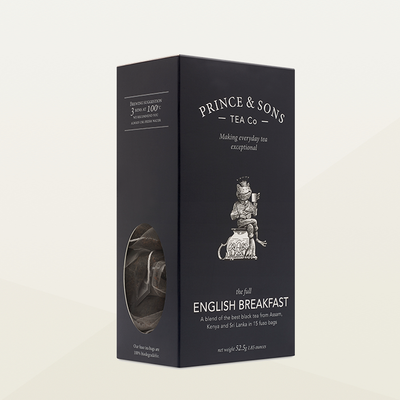 Prince and Sons English Breakfast Tea