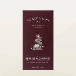 Prince and Sons Berries and Cherries Tea