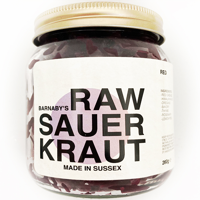 Barnanby's Red Cabbage Sauerkraut