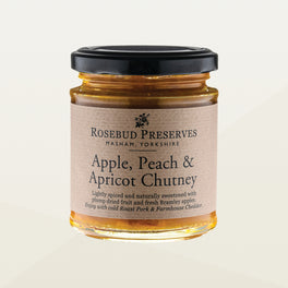 Apple, Peach & Apricot Chutney