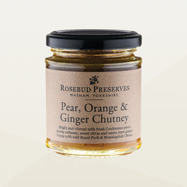 Pear, Orange & Ginger Chutney