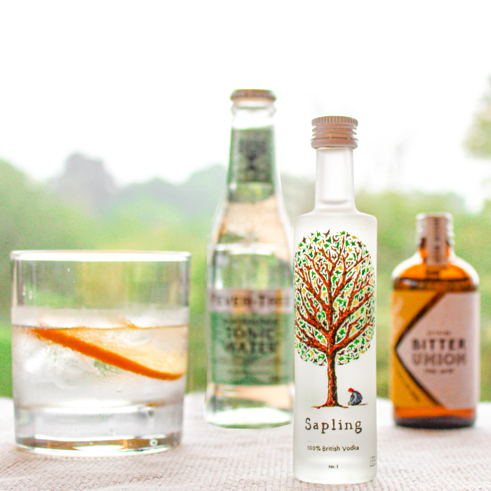Sapling British Vodka Miniature