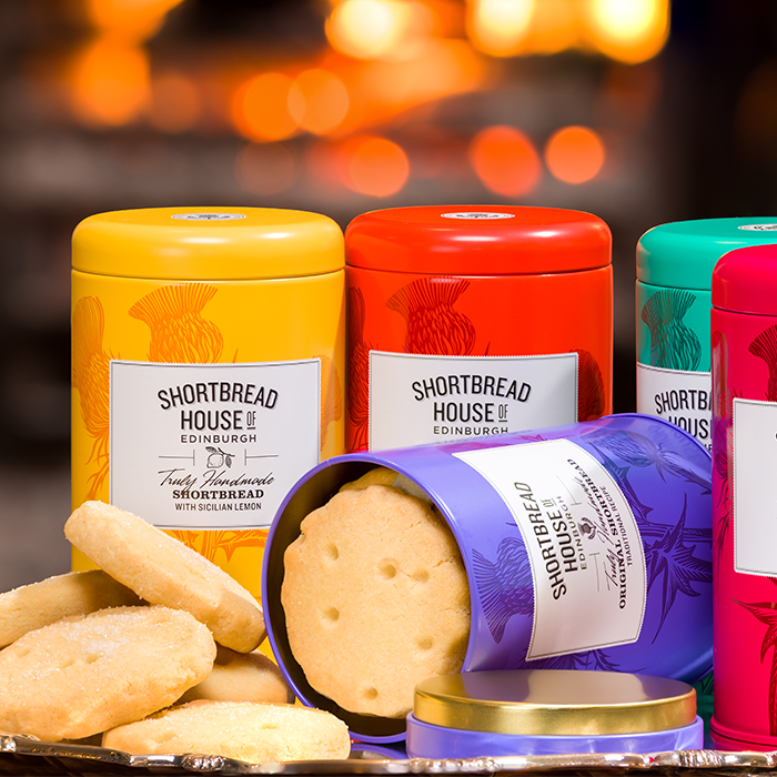 Shortbread House of Edinburgh Shortbread with Stem Ginger Tin
