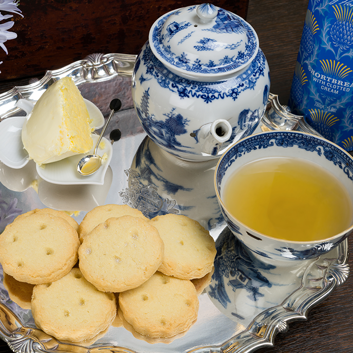 Shortbread House of Edinburgh Shortbread with Clotted Cream Tin
