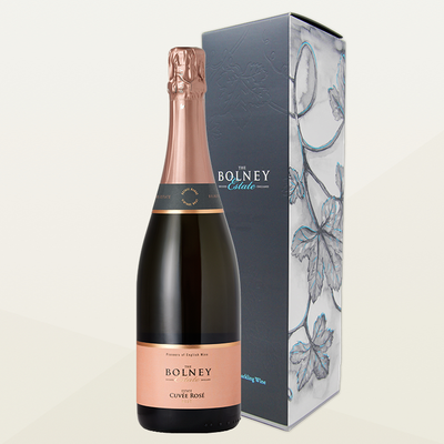 Bolney Wine Estate - Single Sparkling Gift Box - Cuvee Rose
