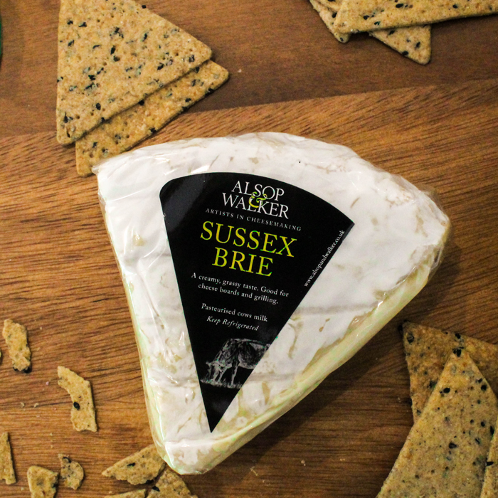 Alsop & Walker Sussex Brie Cheese 200g