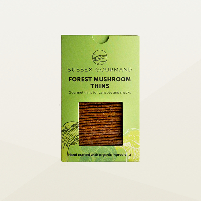 Sussex Gourmand Forest Mushroom Thins
