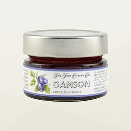 Damson Fruit Purée for Cheese