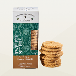 Horsham Gingerbread Twelfth Night Oat Sussex Biscuits