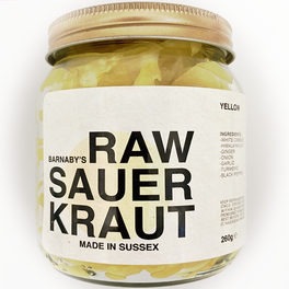 Barnanby's Yellow Cabbage Sauerkraut
