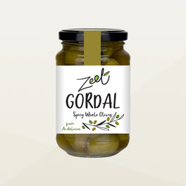 Zeet Organic Gordal Spicy Whole Olives