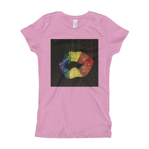 Girl's HEART Lips T-Shirt