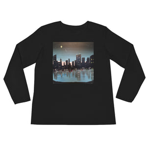 Ladies' Long Downtown Sleeve T-Shirt