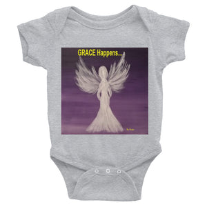 Infant GRACE Happens Bodysuit