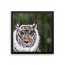 Framed poster White Tiger