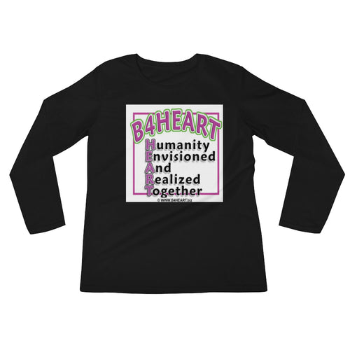 Ladies' Long Sleeve B4HEART T-Shirt