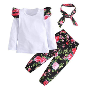 3pc Floral Outfit