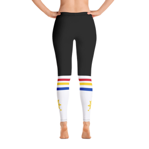 YOKOI LEGGINGS (BLACK/WHITE)