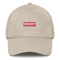YOSOY BOX LOGO DAD HAT