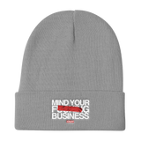 MIND YOUR BUSINESS BEANIE