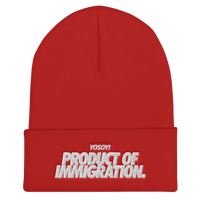 PRODUCT OF IMMIGRATION BEANIE
