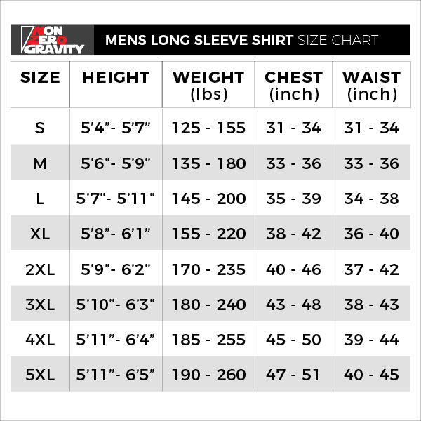 NZG Magma Men's Long Sleeve Performance Workout Shirt