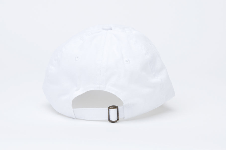 Yes Lawd Dad Cap in White