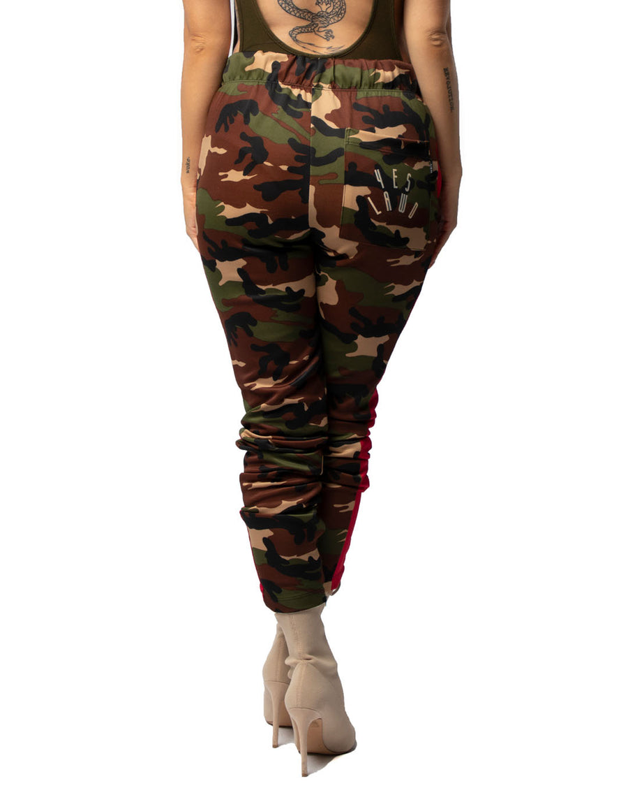 Chapter Trackpants in Camo & Red