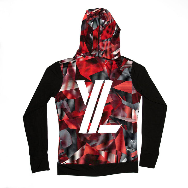 YL Logo Jacket in Red