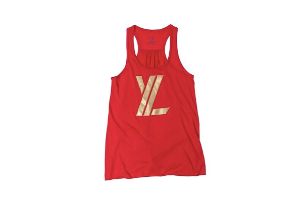 YL Logo Tank Top in Red