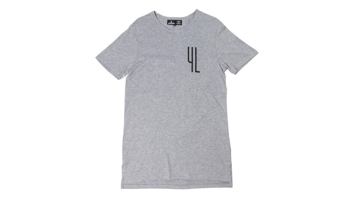 YL Logo Tee in Grey
