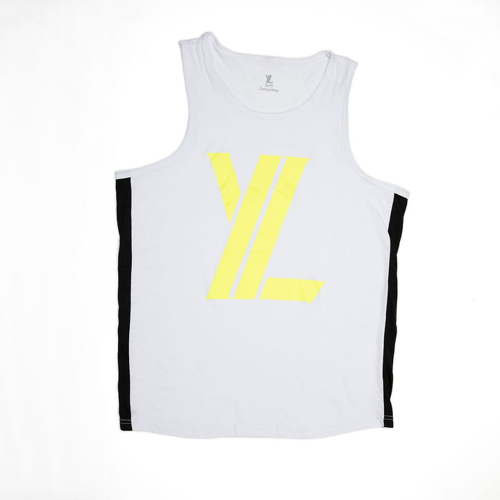 YL Logo Tank Top in Highlighter