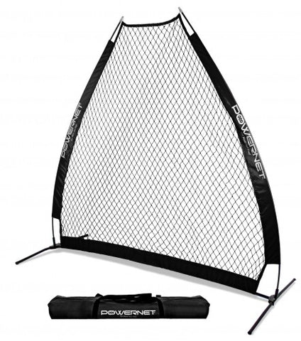 PowerNet Pitching Screen A-Frame Black