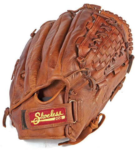 "Shoeless Joe 14"" Mens Softball Glove Slow Pitch Basket Weave"