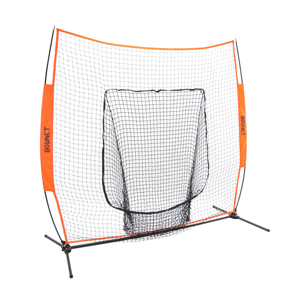 Bownet Big Mouth 7'x7' Baseball and Softball Training System - The Bullpen Store
