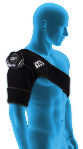 Bownet ICE20 Single Shoulder Compression Wrap - The Bullpen Store