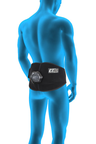 bownet ice20 back/hip compression wrap therapy