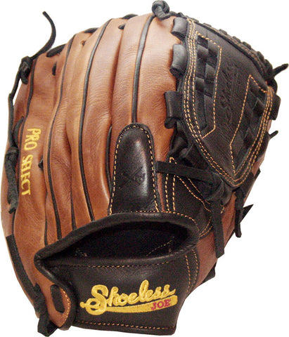 "Shoeless Joe Baseball Glove Pro Select Series 12"" Basket Weave Web - The Bullpen Store"