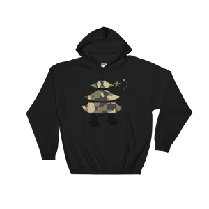 """Large Chyna Camo Logo"" Hooded Sweatshirt"