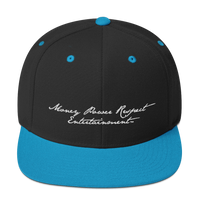 Money Power Respect Entertainment - Handwriting - Snapback