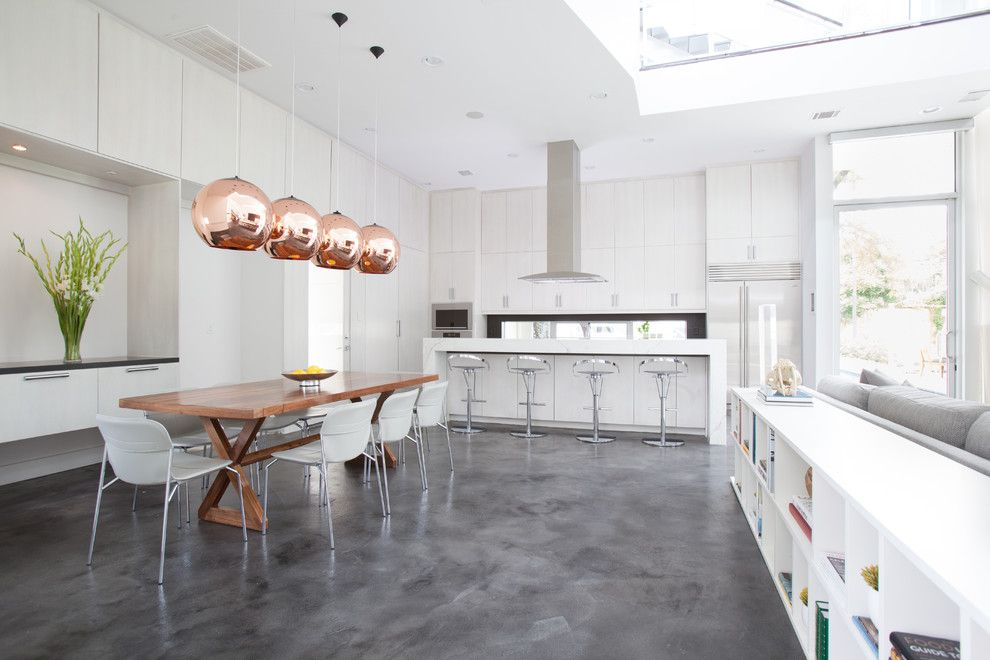 Concrete flooring Chelsea London