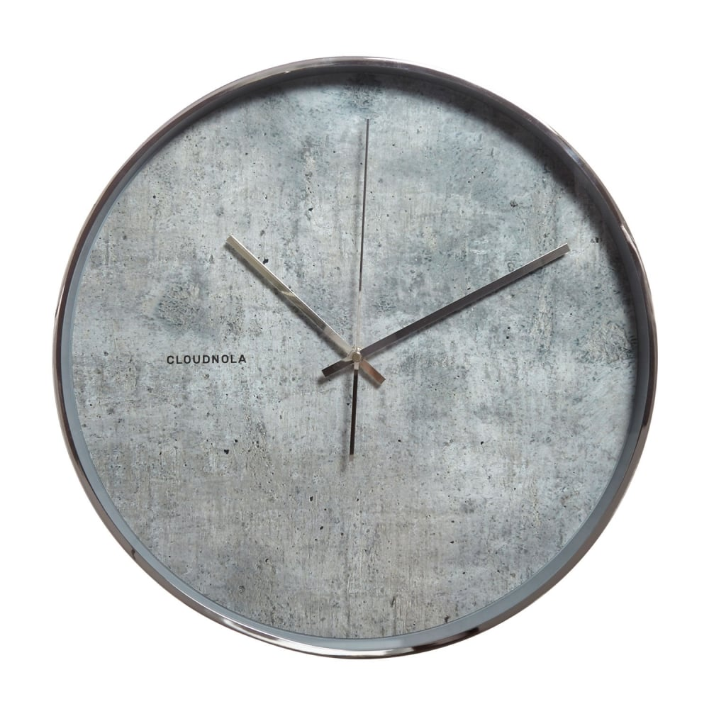 Encore Concrete Clocks front view, Cemlux, polished concrete